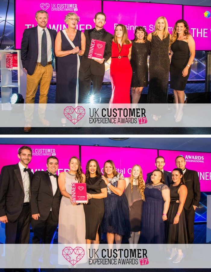 UKCXAwards, Capital One, Business Stream, Donna O'Toole, August Awards, Business Awards