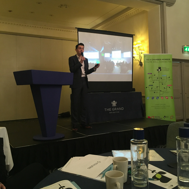 Sussex Chamber of Commerce, Business Leaders Conference, Ben Towers, Entrepreneur