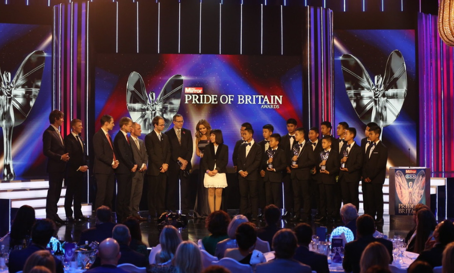 Who is your Pride of Britain?