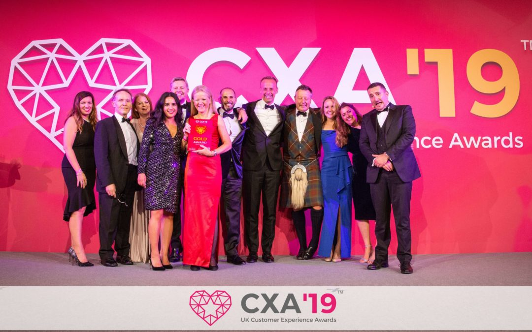 UK Customer Experience Awards Winners 2019