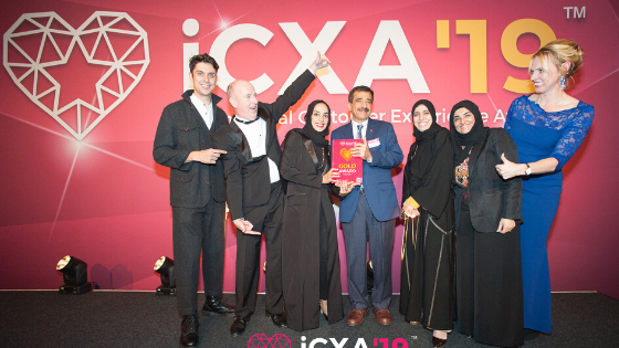 International Customer Experience Awards Winners 2019