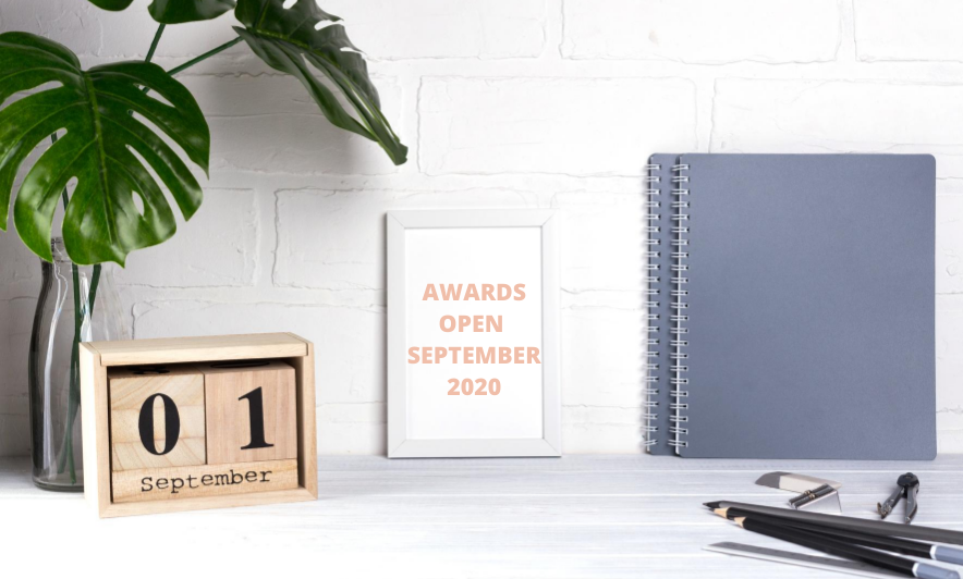 Awards Open in September 2020