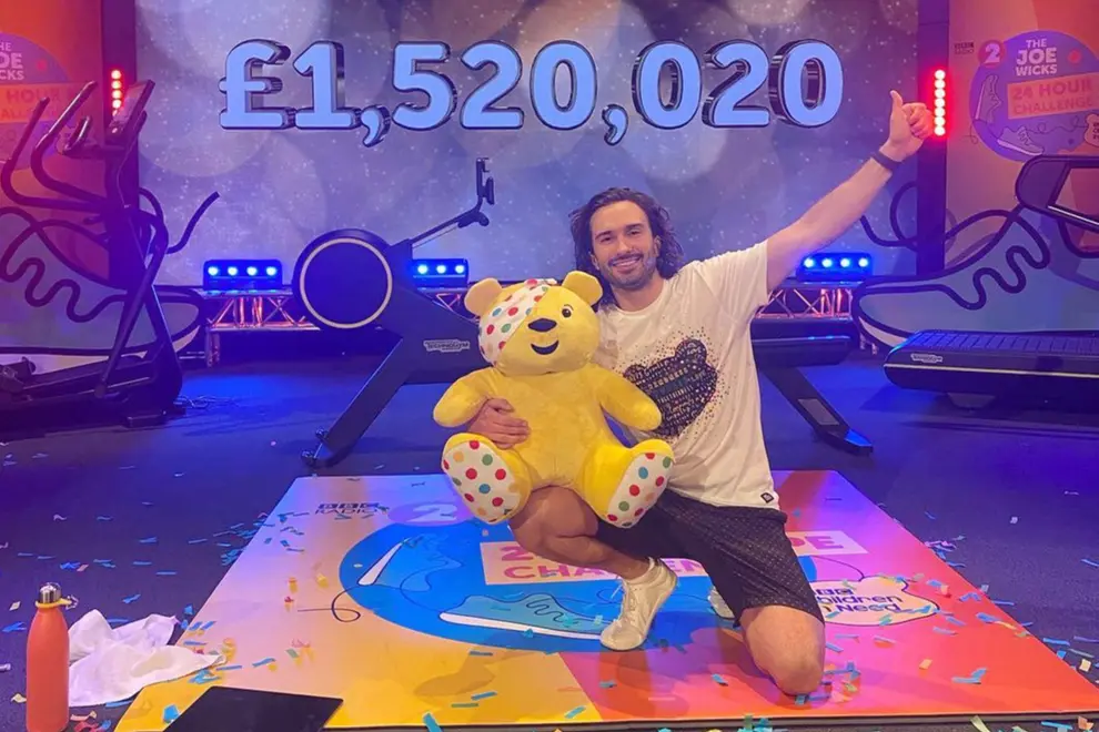 Joe Wicks completes 24 hour PE challenge for BBC Children in Need / Joe Wicks/Instagram