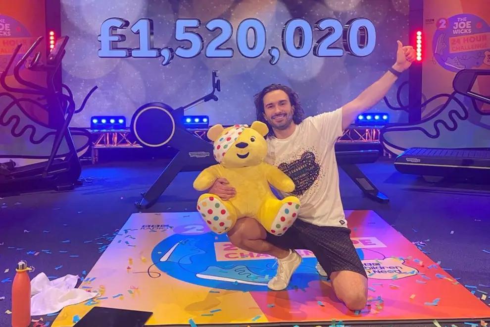 Joe Wicks completes 24 hour PE challenge for BBC Children in Need / Joe Wicks/Instagram