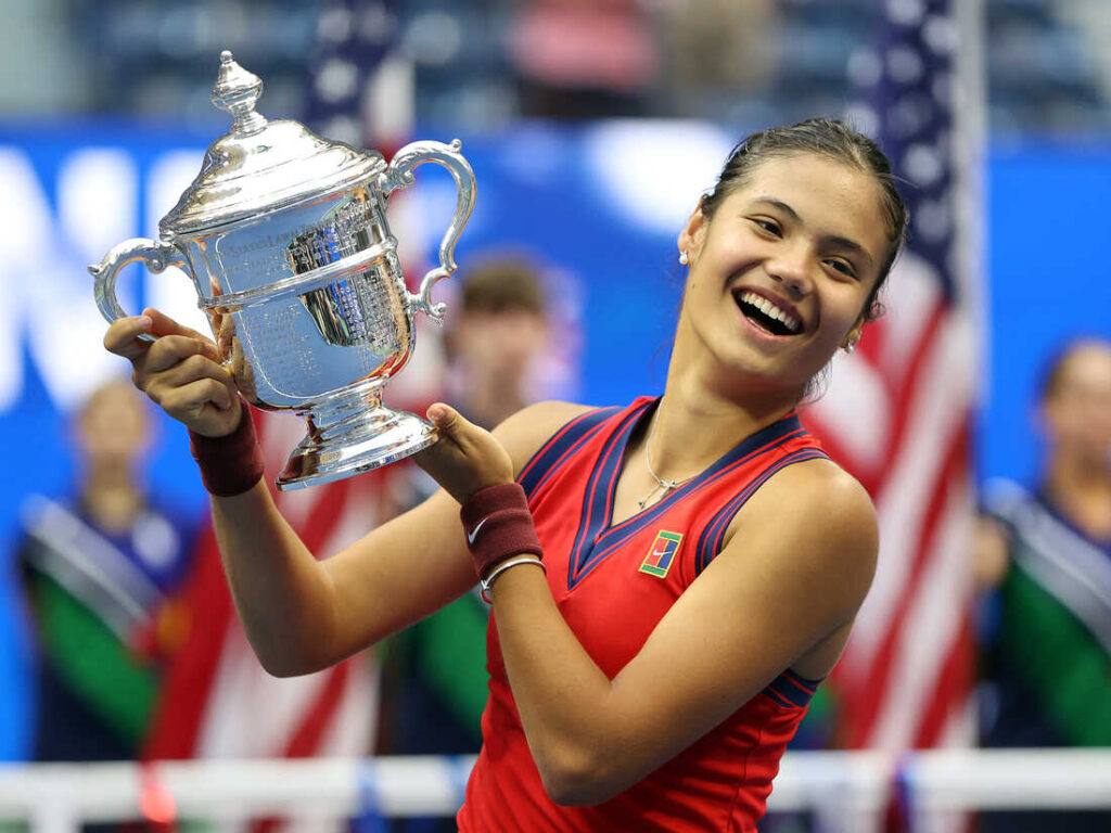 Emma Raducanu wins the US Open