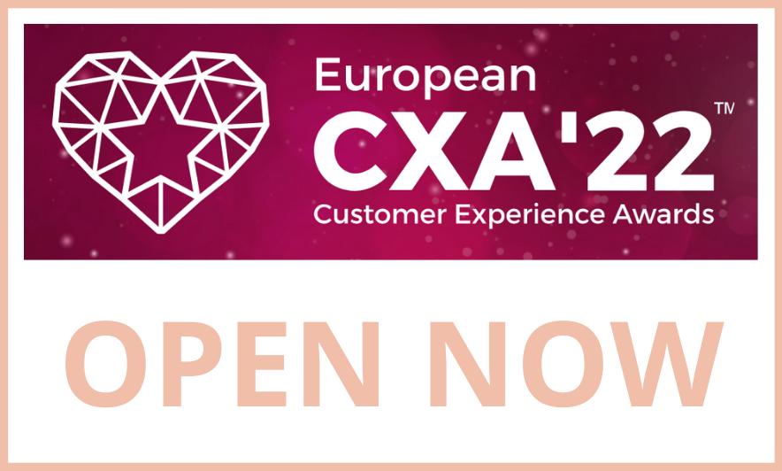 Ready to Win the European Customer Experience Awards?